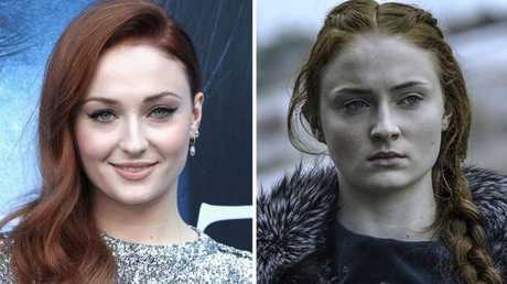 Sophie Turner as Game of Thrones' Sansa Stark. Picture: Getty/HBO