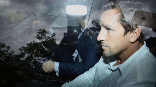 Mitchell Pearce was caught out on mobile phone. (Adam Yip)