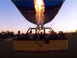 DJ records track from hot air balloon on 4G device
