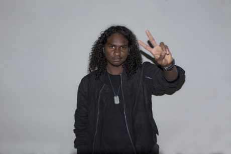 Yolngu rapper Baker Boy, real name Danzal Baker, has taken the country by storm with his song Marryuna. Supplied by Scrabble PR.