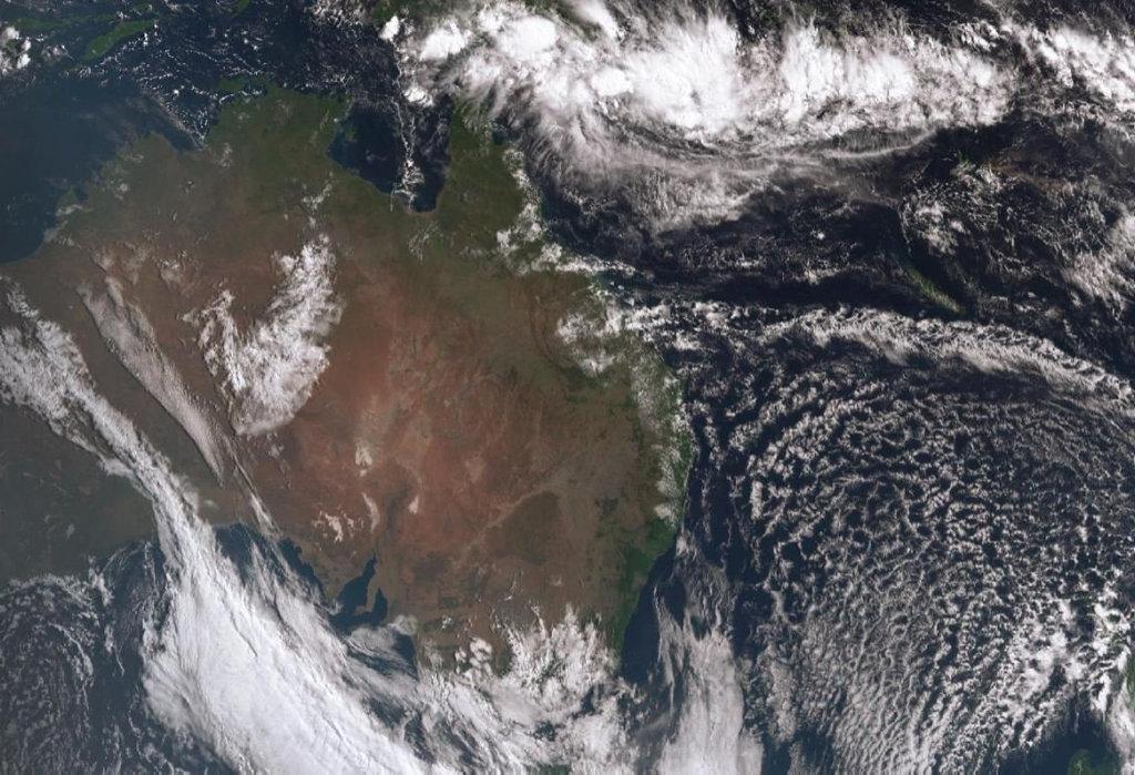 Ex-Tropical Cyclone Iris.