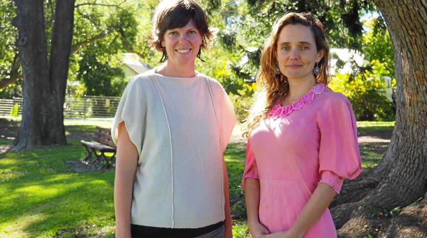 NEED SEEN: Emma Belcher (left) and Rose West are coordinating the housing forum in May.