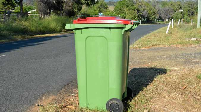 NO CHANGE: Lockyer and Somerset councils shun laws to fine residents for leaving their wheelie bins out.