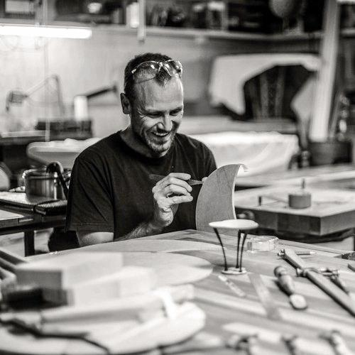 Local furniture craftsman Alby Johnson will be presenting in the morning as part of the interactive