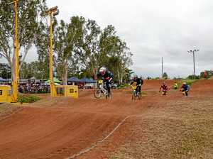 BMX bikers' back on the track