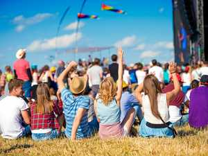 'Largest rock concert west of the Great Dividing Range'