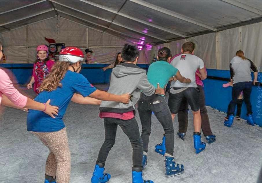 A portable ice skating rink is coming to Ballina during the school holidays.