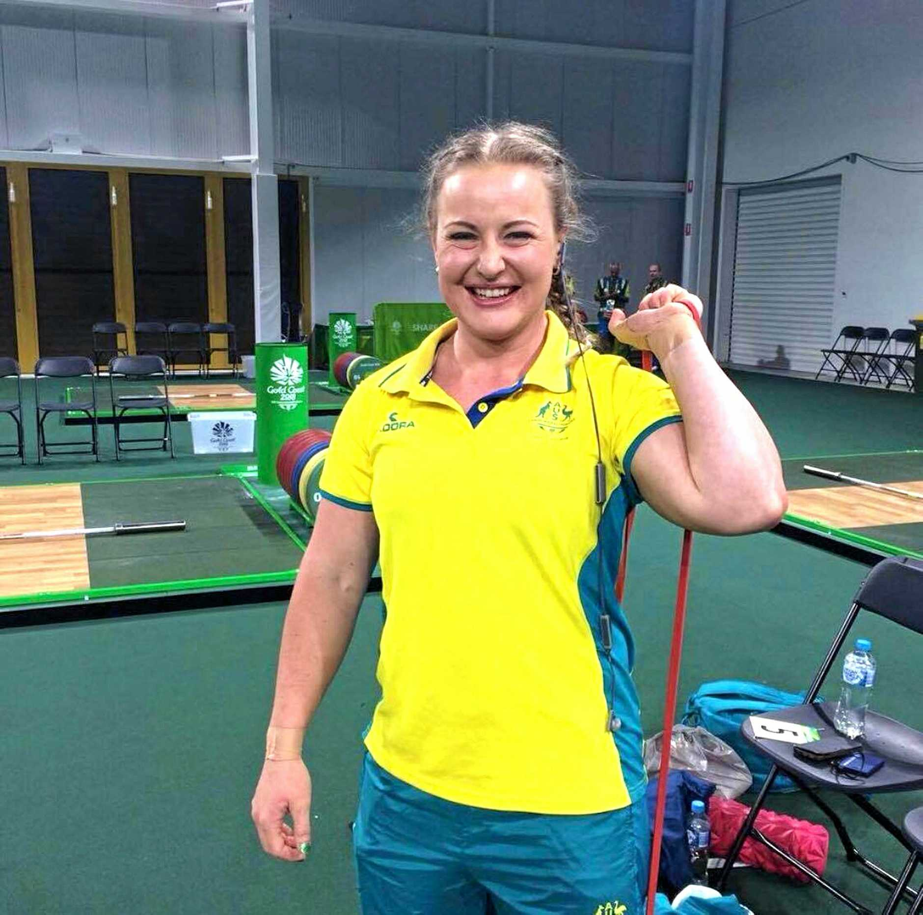 Australian weightlifter Stephanie Davies has new found fame.