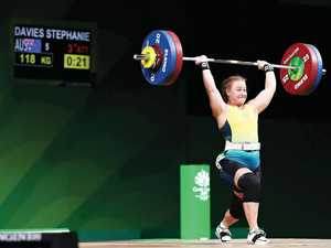 Games athlete lifts performance to new heights