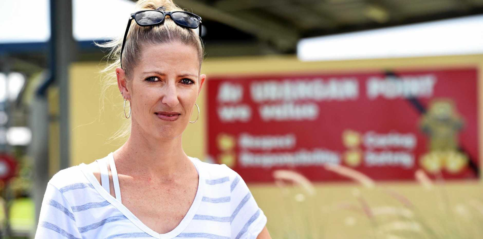 TOO HOT: Urangan Point State School's Parents and Citizens' committee is committed to air conditioning their school and secretary Katie Norris won't stop until she sees it happen.