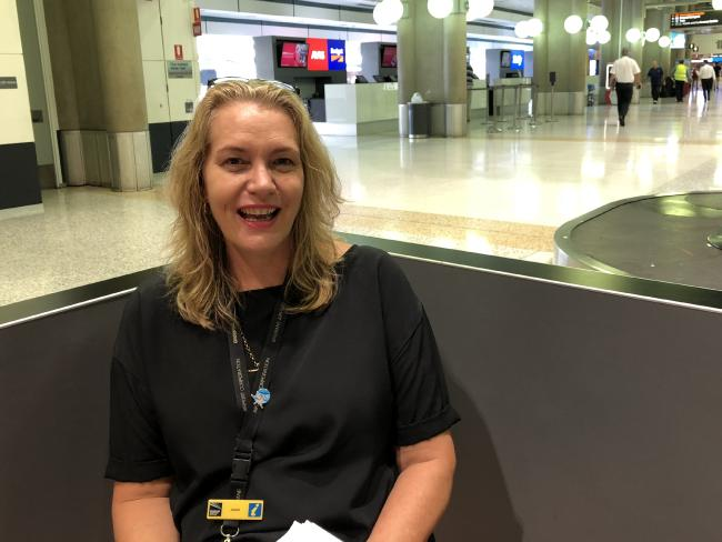 Jenni Greaves is in charge of lost property at Brisbane Airport.