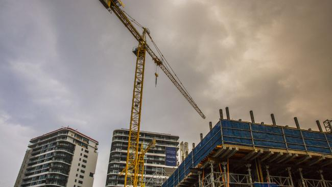 COOLING OFF: The number of apartments in the planning phase has crashed across Queensland.