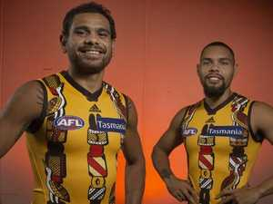Indigenous jumper hits home for Cyril
