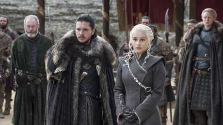 Fans will have to wait a long time to find out what happens to Jon and Daenerys. Picture: HBO