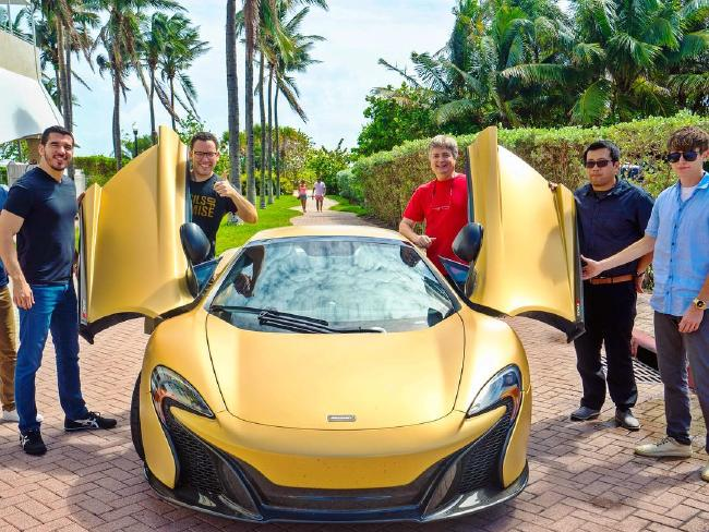 Nice car! Picture: Timothy Sykes