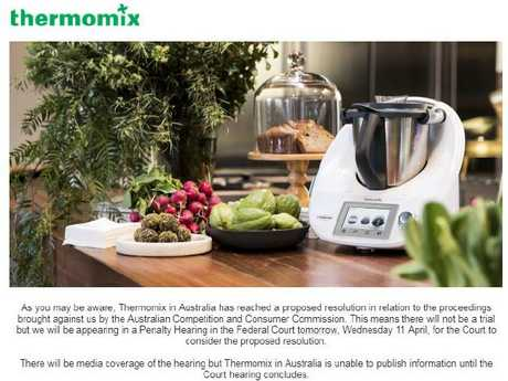 Thermomix fined $4.6m after users burned by faulty appliances