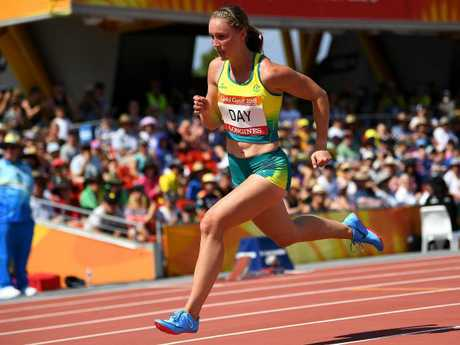Day is likely to have to set a new PB to make the 200m final. Picture: AAP