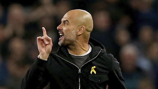 Manchester City manager Pep Guardiola has a superb coaching record. Picture: Tim Goode