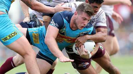 Titans lock Jai Arrow's hot form could put him in the Queensland State of Origin frame.