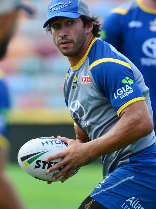 Thurston has struggled for form since coming back from injury. (Evan Morgan)