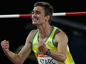 Brandon Starc jumps for gold