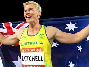 'F...ing awesome': Mitchell spears record