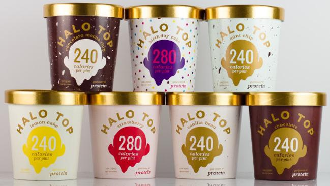 The popular Halo Top ice cream is a healthy alternative to regular ice cream.