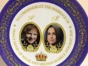 Massive blunder on royal wedding plate