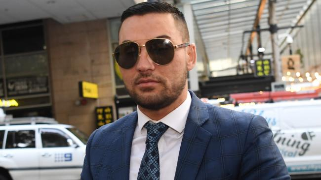 Salim Mehajer arrives to the Central Local Court in Sydney this morning to hear the verdict in his electoral fraud case. RAW:Salim Mehajer arrives at a Sydney court