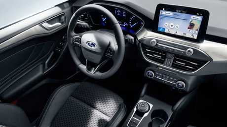 Ford has joined the growing number of brands with 'tablet-style' touchscreens in the dashboard. Picture: Supplied.