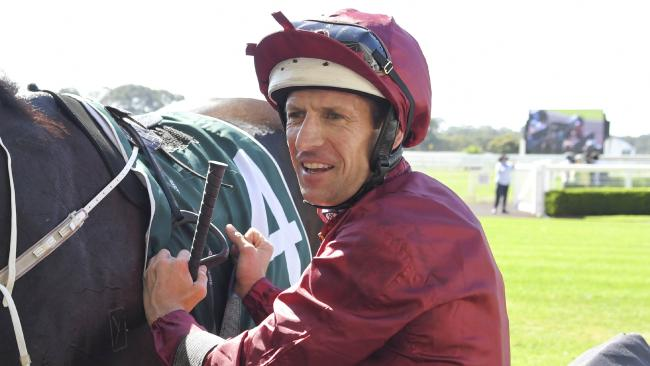 Hugh Bowman was back in the winner's circle with Omineca at Warwick Farm. Picture: AAP