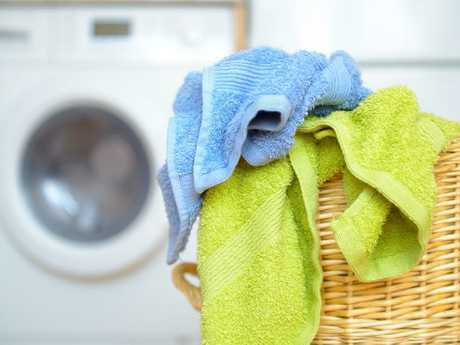 If you add too much detergent it can prevent your towels from rinsing clean