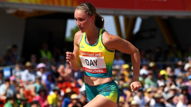 Riley Day is likely to have to set a new PB to make the 200m final. Picture: AAP