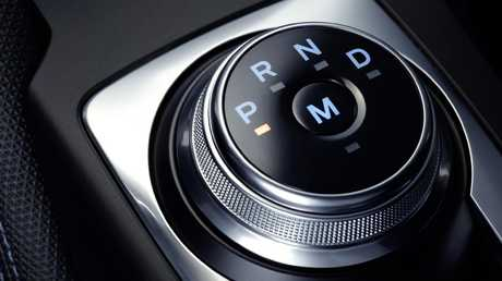 This dial replaces the humble gearshift lever in automatic versions of the new Ford Focus. Picture: Supplied.