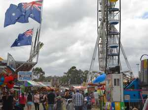 Hundreds roll through gates for first day of Toowoomba Show