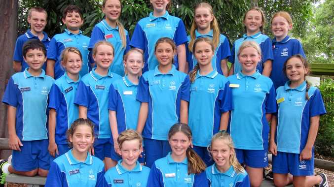 WELL DONE: The Sunshine Beach State School leadership group.