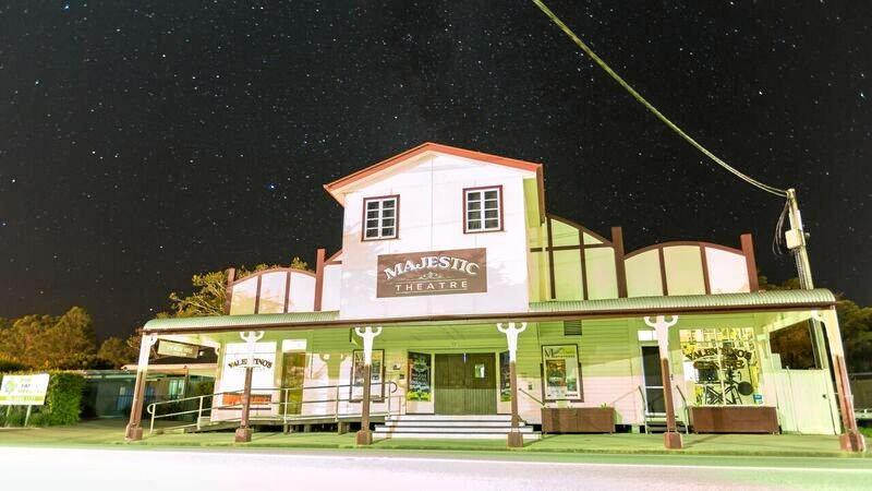 SOS: The Majestic Theatre.