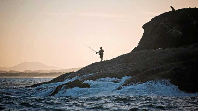 DANGER ZONE: Rock fishing is a popular pastime but also one of the leading causes of coastal drowning in Australia.
