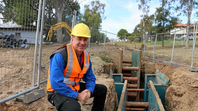 ESSENTIAL SERVICES: Maranoa councillor David Schefe raised concerns relating to Roma's water and sewerage system at the LGAQ Water and Sewerage Advisory Committee meeting.