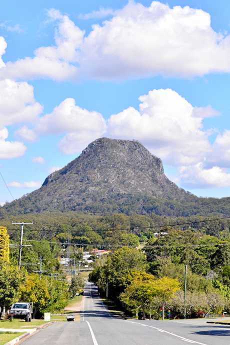 Mt Cooroora.