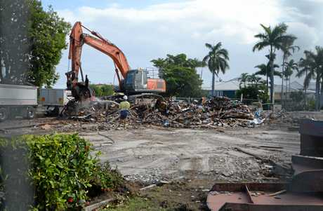 NO MORE: St Vincents Church in Wandal has been demolished.