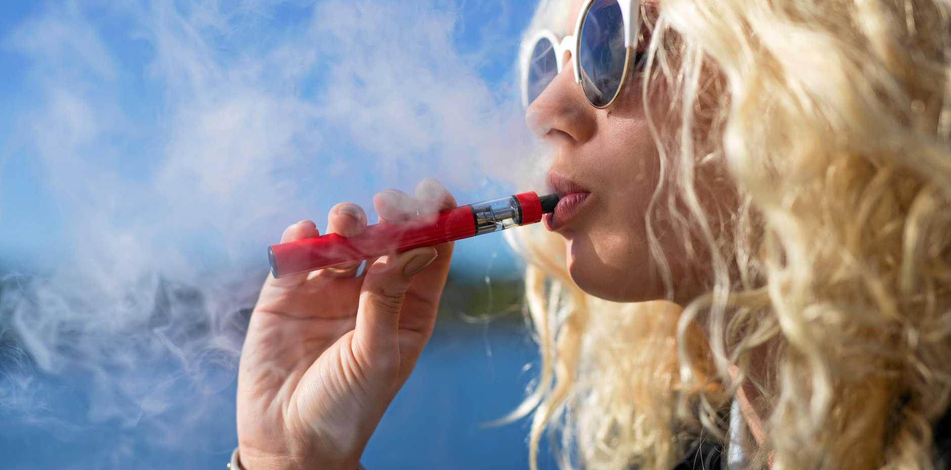 VAPING BAN: New laws to bring e-cigarettes in line with tobacco will come into effect in July, making it illegal to smoke in public places.