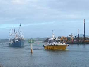 Investigation launched into stranded fishing trawler