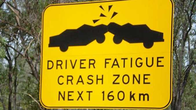 fatigue, road sign, generic, tired, driver, driving, road, sleep