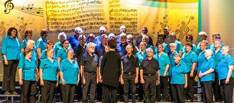 The 50 member-four-part Esk Choir wowed the capacity audience at the first of its 40th anniversary celebrations