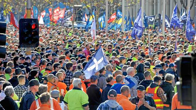 The CFMEU was in a court battle with the mining firm over roster allowances. (File photo)