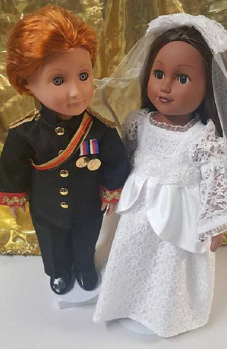 Ever wondered what Harry and Meghan would look like in doll form? Wonder no more. These two retail for $200 on Etsy.