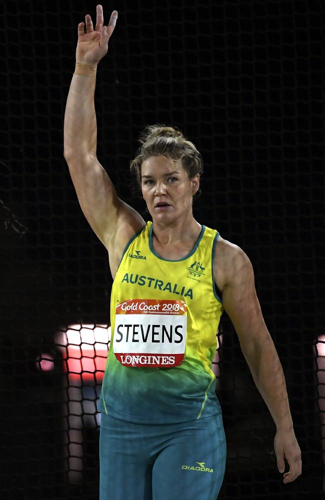 Stevens finished almost 8m ahead of her closest competitor on the Gold Coast. Picture: AAP Image/Dean Lewins