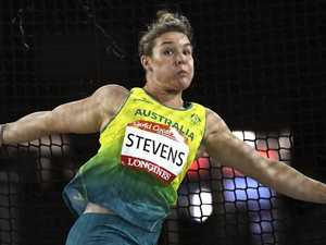 Dani Stevens smashes record to leave rivals in a spin