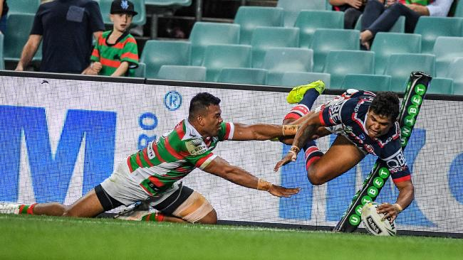 Despite Latrell Mitchell's try, it was a poor effort from the Roosters.